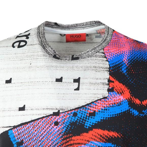 HUGO Mens Multicoloured Drame T-Shirt