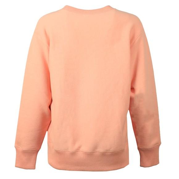 Champion Reverse Weave Womens Pink Small Script Logo Sweatshirt main image