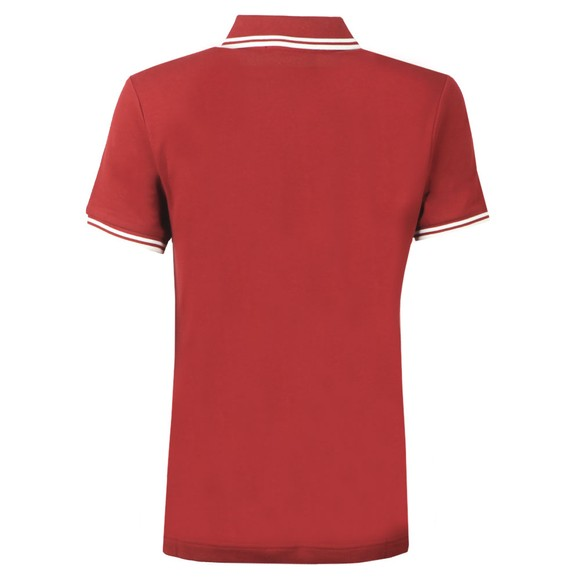 Fred Perry Womens Red Twin Tipped Polo Shirt  main image