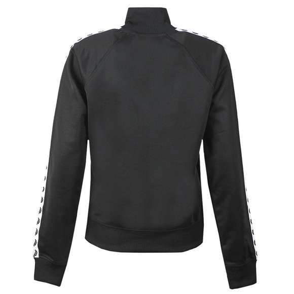 Fred Perry Womens Black Taped Track Jacket main image