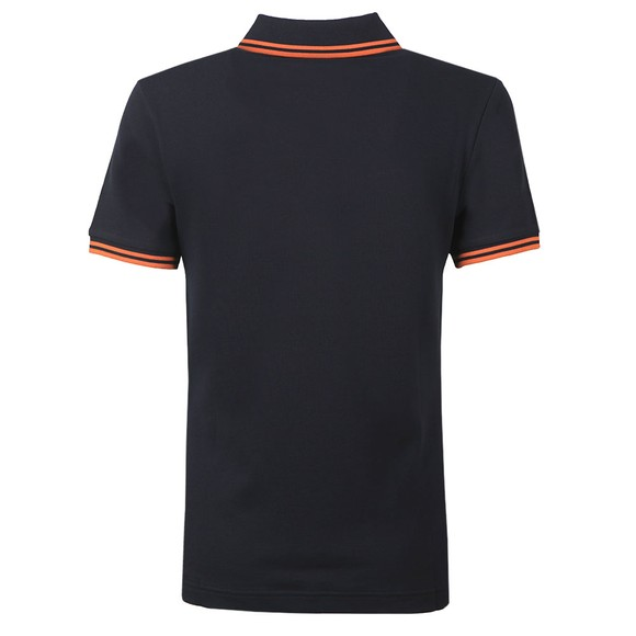 Fred Perry Womens Blue Twin Tipped Polo Shirt  main image