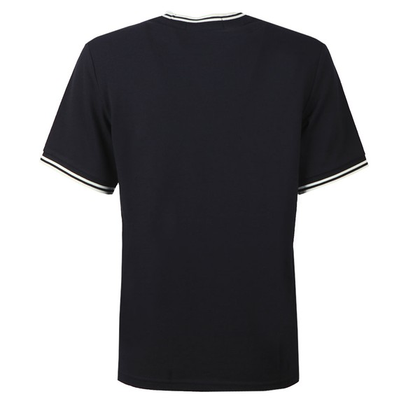 Fred Perry Womens Blue Twin Tipped Pique T-Shirt main image