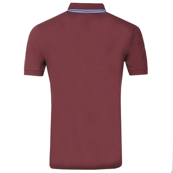 Fred Perry Mens Purple Tipped Placket Polo Shirt main image
