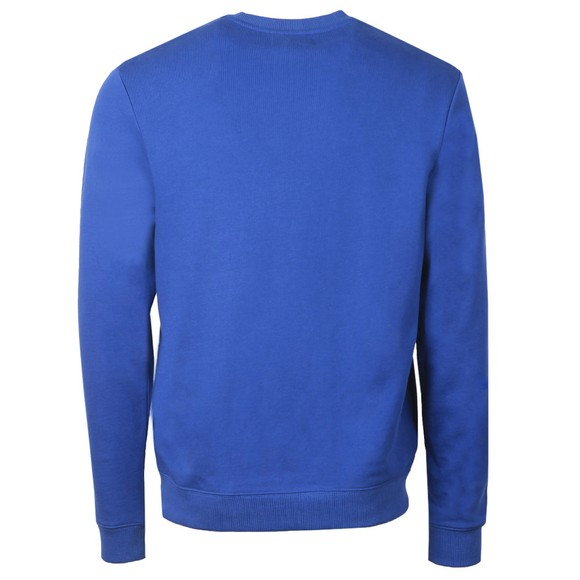 Fred Perry Mens Blue Graphic Sweatshirt main image