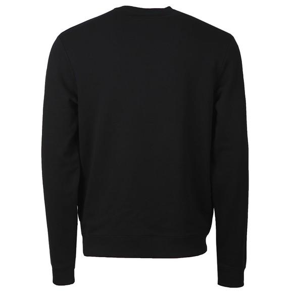 Fred Perry Mens Black Graphic Sweatshirt main image
