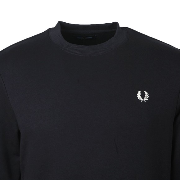 Fred Perry Mens Blue Crew Neck Sweatshirt main image