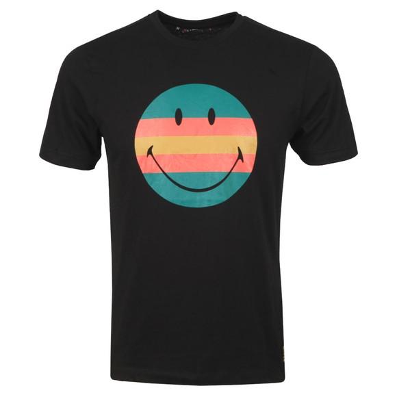 Luke Sport Mens Black Vibes Luke x Smiley T-Shirt