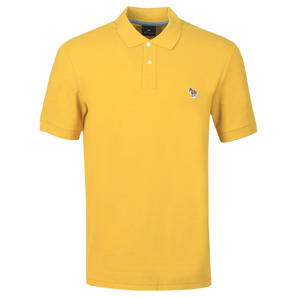 PS Paul Smith Mens Yellow Zebra Polo Shirt