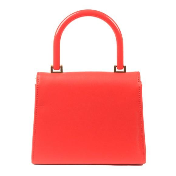 Love Moschino Womens Red Logo Top Handle Bag main image