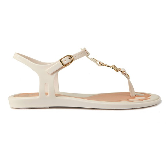 Vivienne Westwood Anglomania X Melissa Womens Off-White Solar Orb Sandal