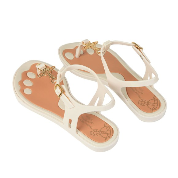 Vivienne Westwood Anglomania X Melissa Womens Off-White Solar Orb Sandal main image