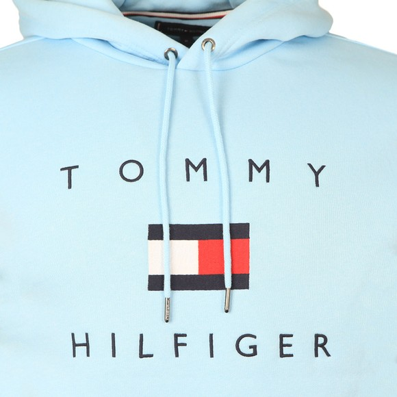 Tommy Hilfiger Mens Blue Flag Hoody main image