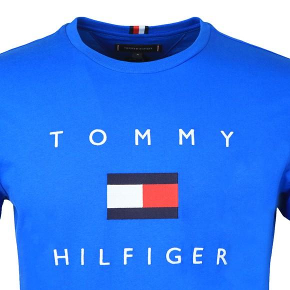 Tommy Hilfiger Mens Blue Flag T-Shirt main image