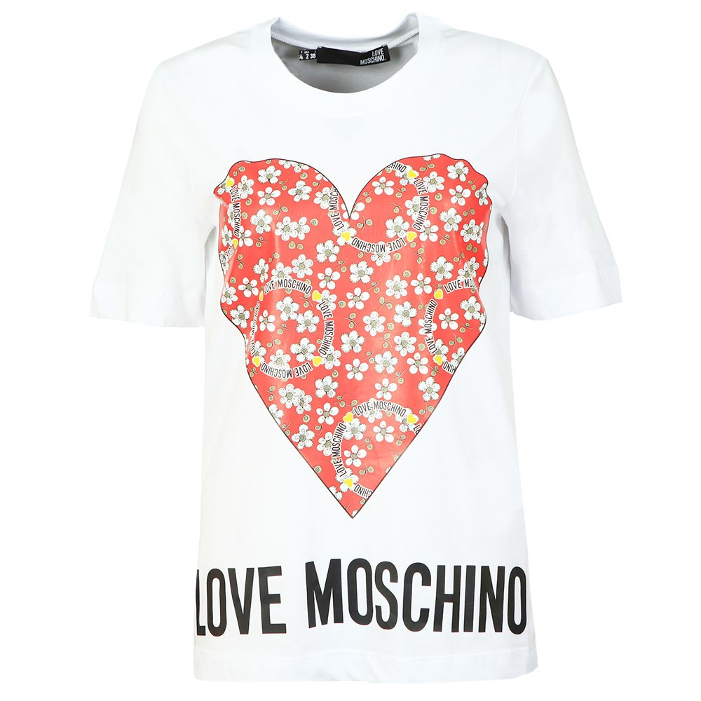 Floral Heart T Shirt main image