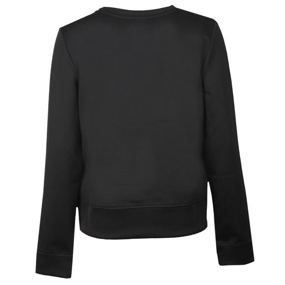 Love Moschino Womens Black Circle Logo Sweatshirt main image