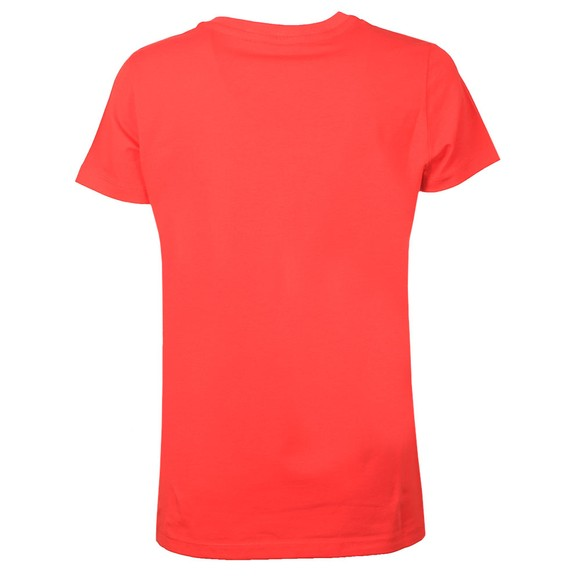 Love Moschino Womens Red Circle Logo T-Shirt main image