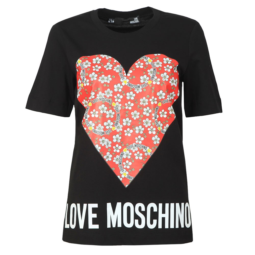 Floral Heart T Shirt main image