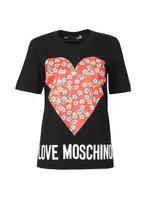 Floral Heart T Shirt