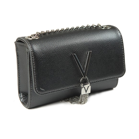 Valentino by Mario Womens Grey Divina Clutch Bag