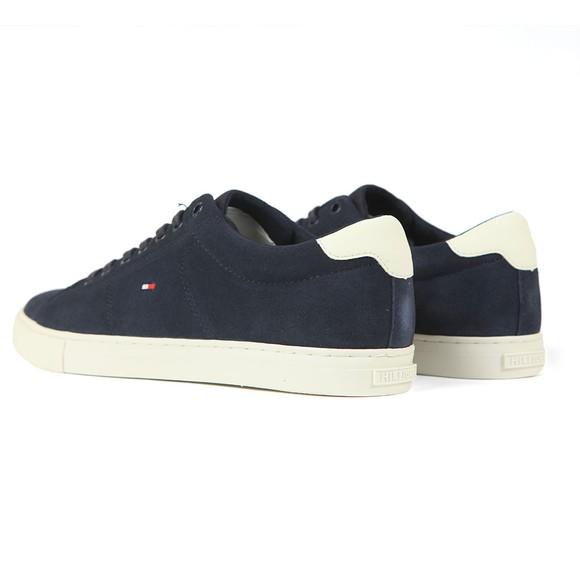 Tommy Hilfiger Mens Blue Seasonal Suede Sneaker main image