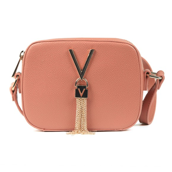 Valentino by Mario Womens Orange Divina Small Handle Tote