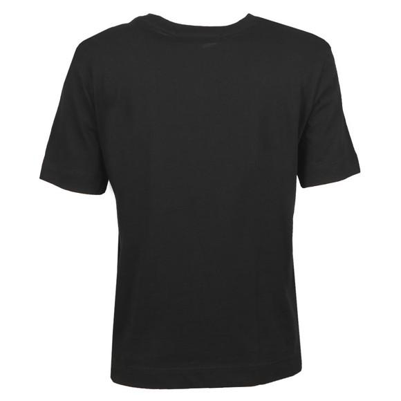 Calvin Klein Jeans Womens Black Grid Logo T Shirt main image
