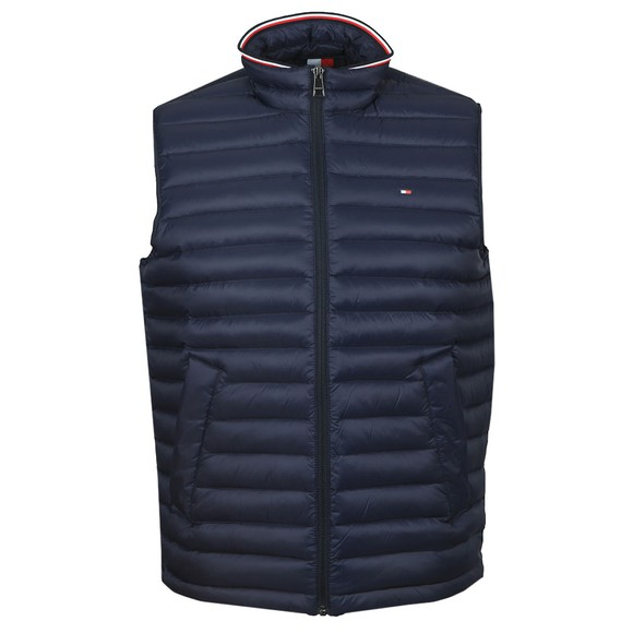 Tommy Hilfiger Mens Blue Core Packable Down Gilet
