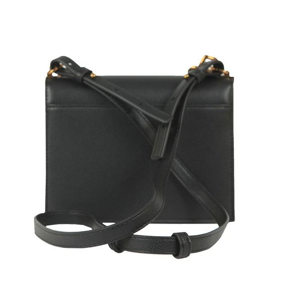 Love Moschino Womens Black Small Logo Grain Small Bag main image