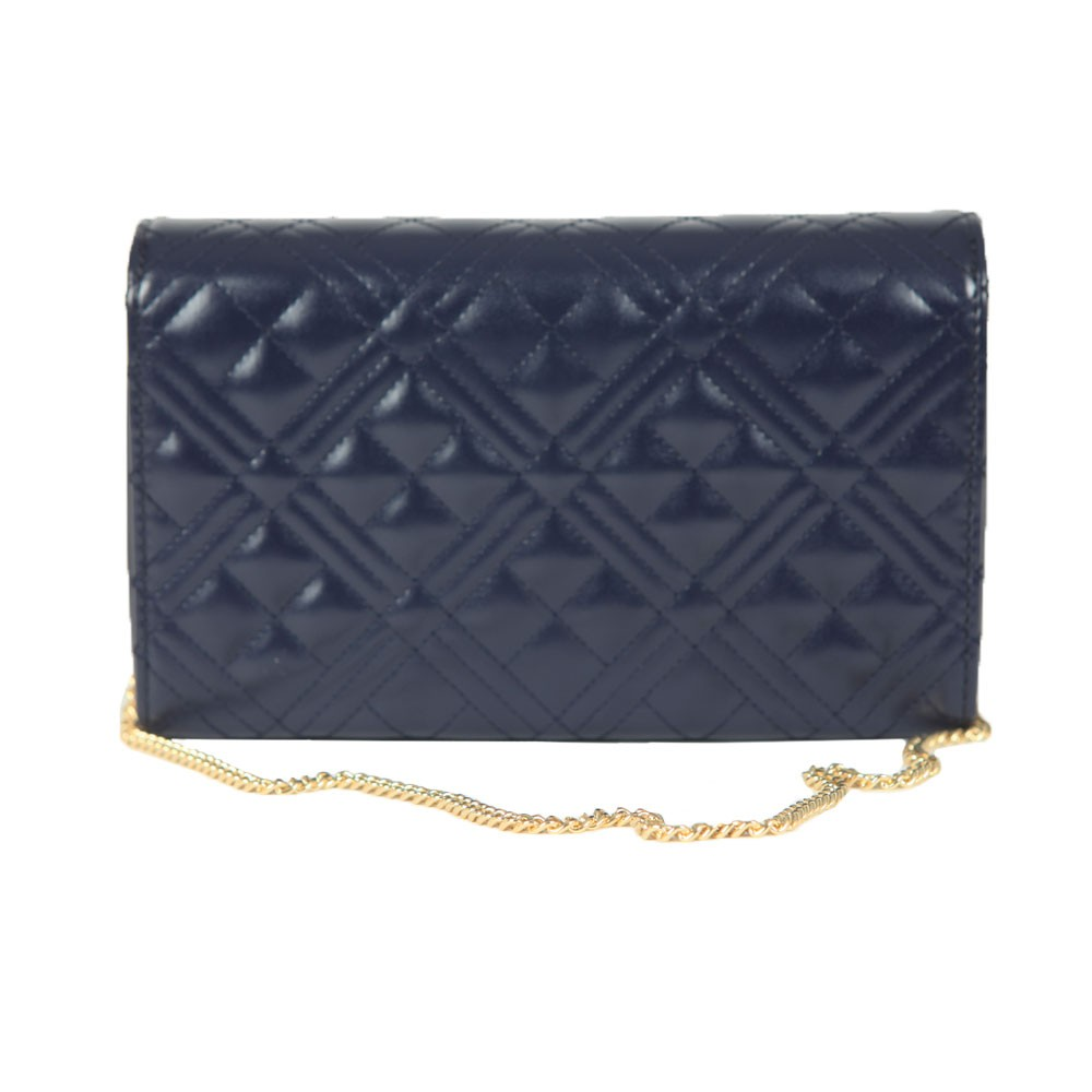 Cross Quilted Clutch main image