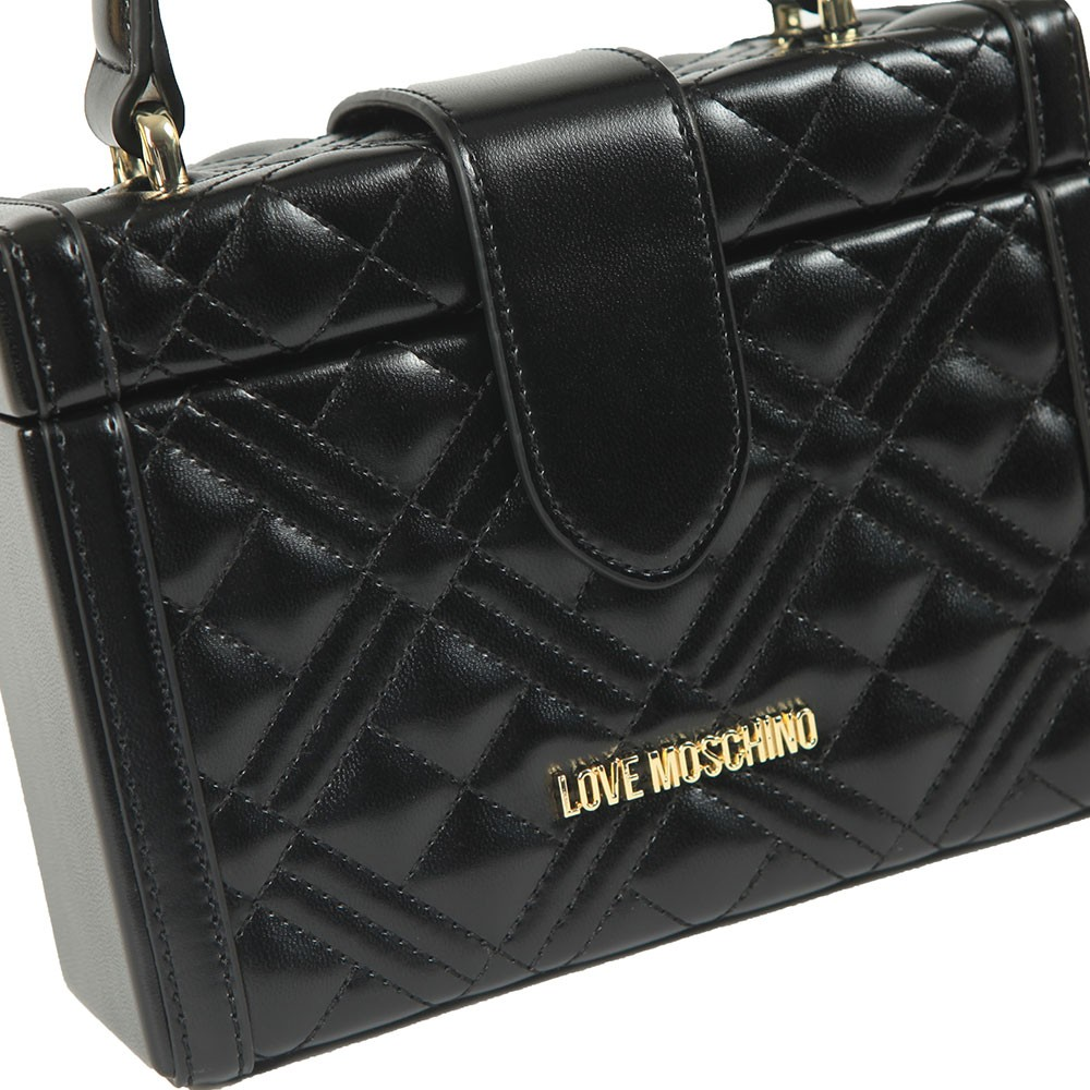 Cross Quilted Small Shoulder Bag main image