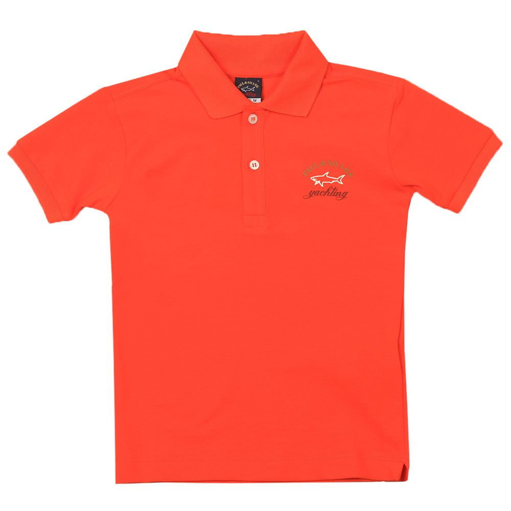 Printed Logo Polo Shirt main image