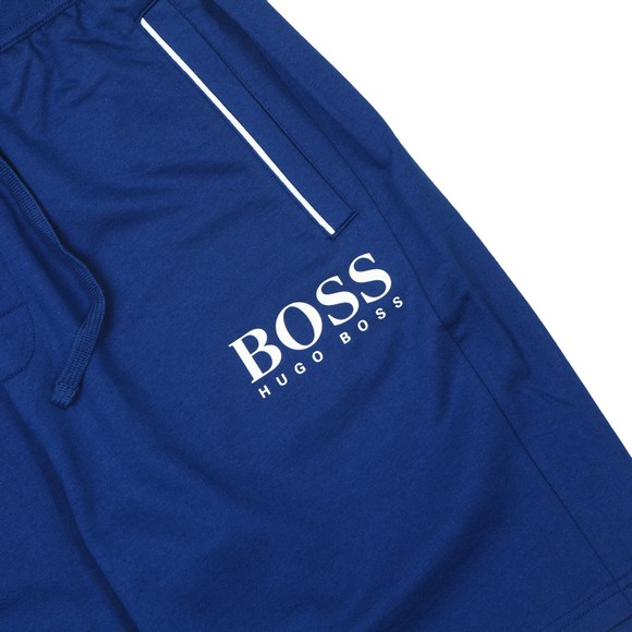 BOSS Bodywear Mens Blue Authentic Logo Jersey Short main image