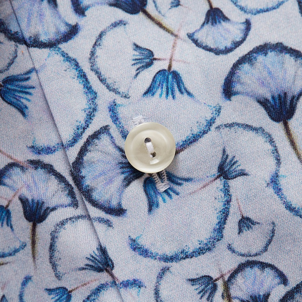 Signature Twill Flower Detail Shirt main image