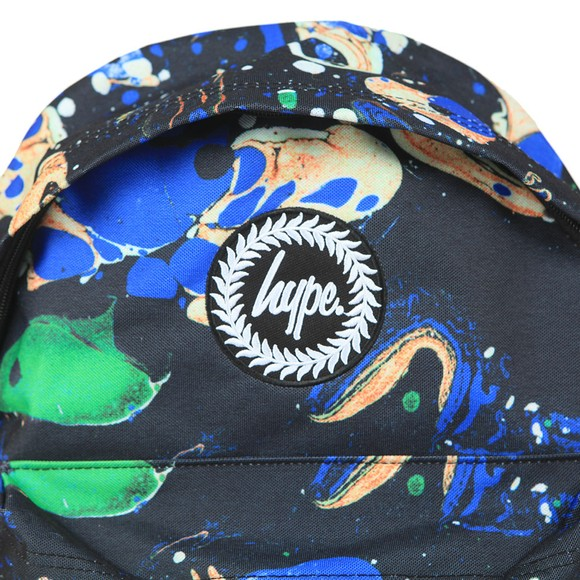 Hype Boys Blue Marble Backpack main image