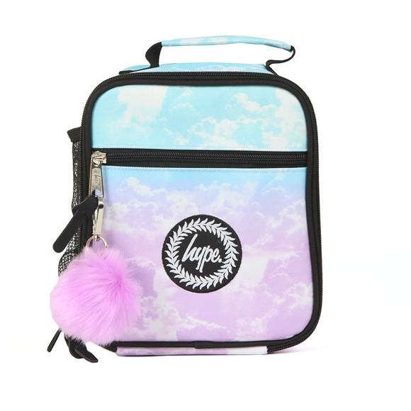 Hype Girls Blue Cloud Fade Lunchbox