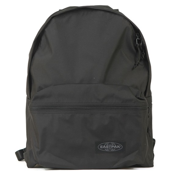 Eastpak Mens Black Padded Streamed Backpack