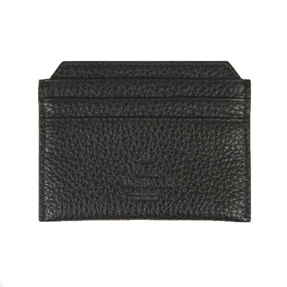 Vivienne Westwood Mens Black Milano Slim Card Holder main image