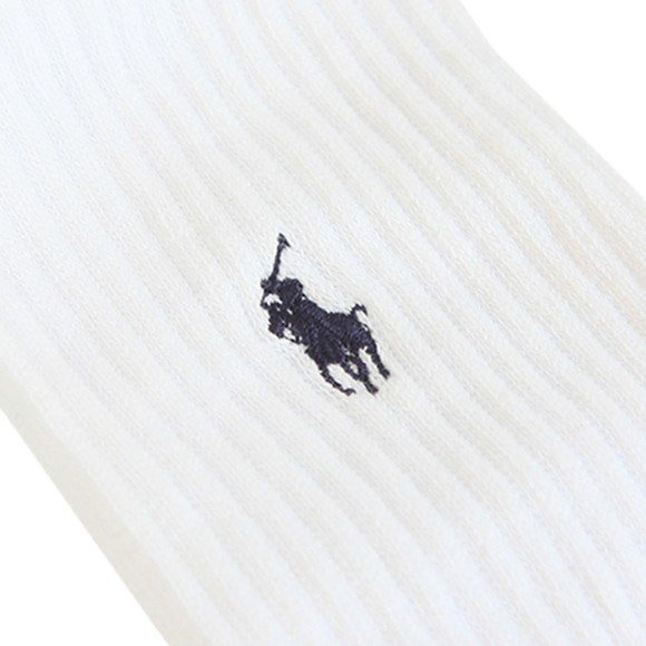 Polo Ralph Lauren Mens Grey Athletic Classic 3 Pack Sock