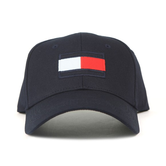 Tommy Hilfiger Mens Blue Big Flag Cap