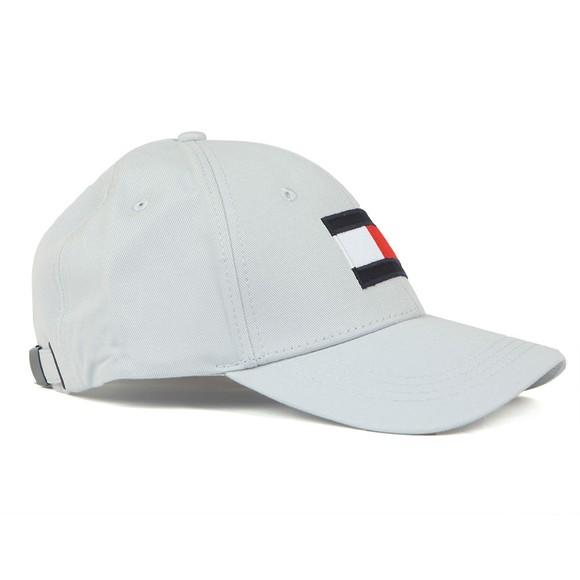 Tommy Hilfiger Mens Grey Big Flag Cap