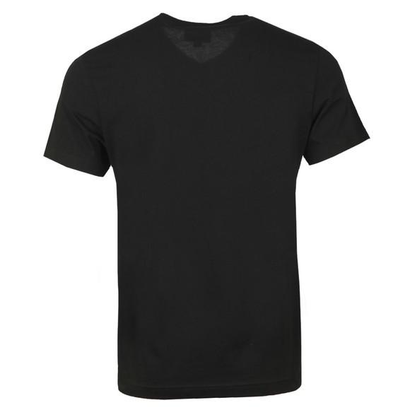 Lacoste Mens Black TH2036 V Neck T-Shirt main image