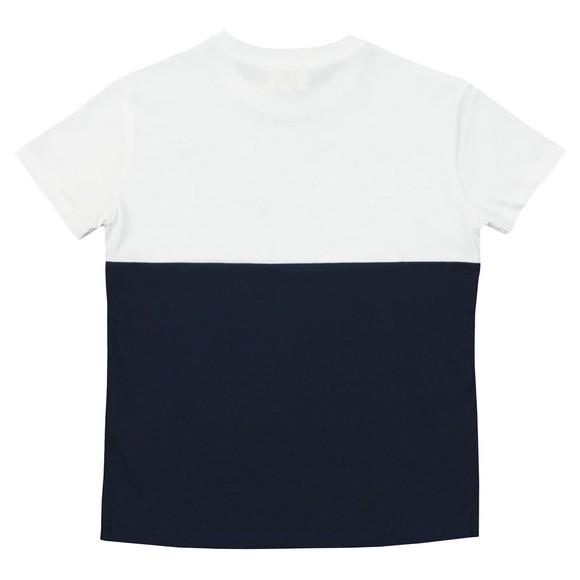 Kenzo Kids Boys Blue Colour Block Sport Line T Shirt main image