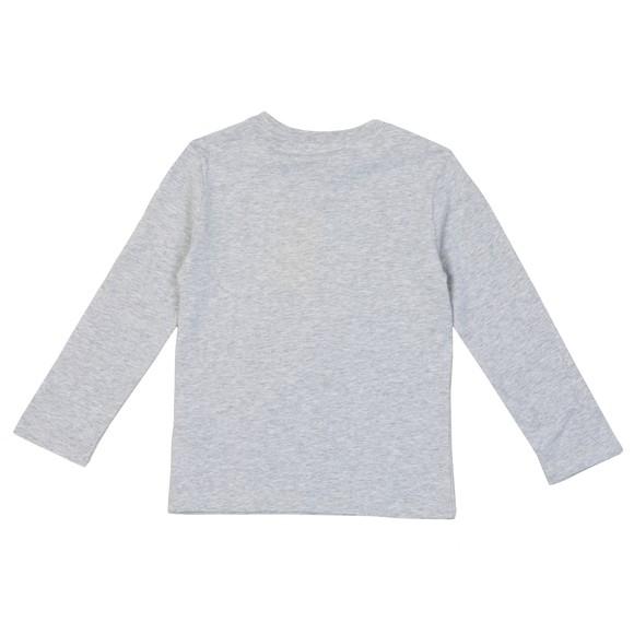 Kenzo Kids Boys Grey Kairon Elephant Long Sleeve T-Shirt main image