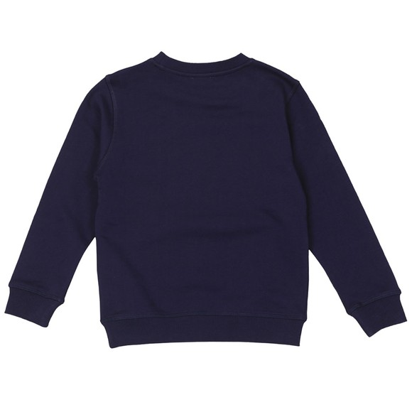 Kenzo Kids Boys Blue Embroidered Tiger Sweatshirt main image
