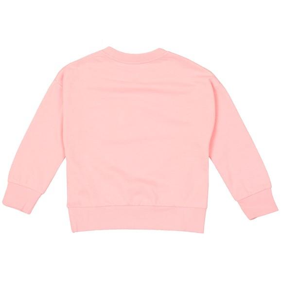 Kenzo Kids Girls Pink Kaylista Elephant Crew Sweatshirt main image