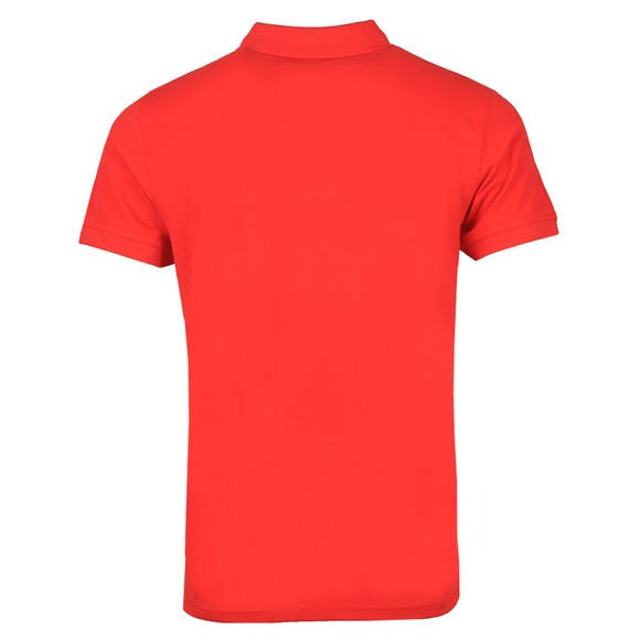 Gant Mens Red Contrast Collar Rugger main image