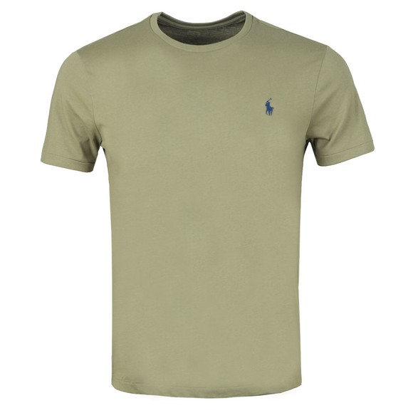 Polo Ralph Lauren Mens Green Custom Slim Fit T-Shirt