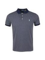 Patterned Pima Cotton Polo Shirt