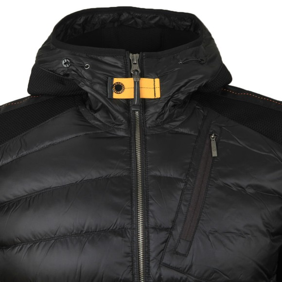 Parajumpers Mens Black Nolan Hooded Jacket
