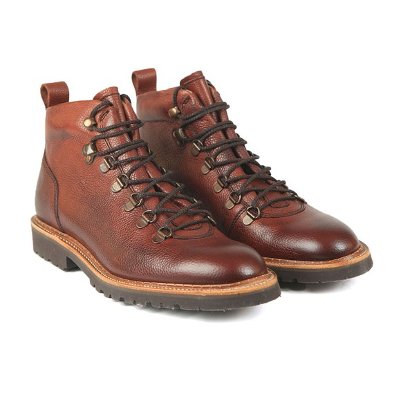 Barker Mens Red Glencoe Boot